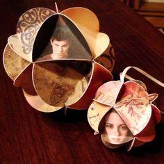 Twilight Christmas Ornaments #DIY #Christmas #Ornaments