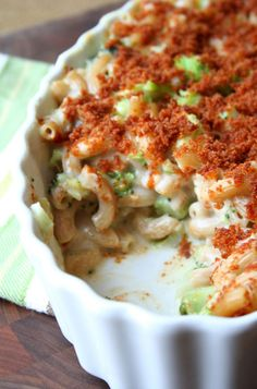 Macaroni & Cheese with Broccoli