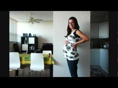 Totally doing this for the next baby. A pregnancy time lapse video is so neat.