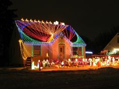 My dream decorated yard.  Would make just a few changes. =)