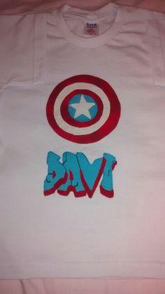 Camiseta capitão america