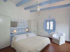 Arredamento casa al mare - Pareti decorate con l'azzurro