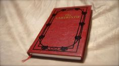 Labyrinth Sarah's Book Replica Diary & Journal / Sketchbook - King Jareth would be jealous!
