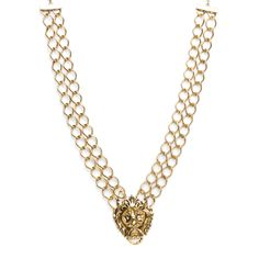 Posh Pride :: chunky Chain necklace :: gold