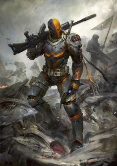 Unmasked version of the Deathstroke i did for InkInk Collectables Think i prefer this verson. looks way more metal gear Deathstroke the Terminator - Unmasked Dc Deathstroke, Deathstroke The Terminator, Deadshot, Deathstroke Cosplay, Comic Villains, Dc Comics Characters, Marvel Vs, Comic Books Art, Comic Art