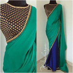 Welcome to Waidurya Brocade Blouse Designs, Saree Jacket Designs, Choli Blouse Design, Saree Blouse Patterns, Simple Saree Designs, Simple Sarees, Choli Designs, Mehndi Designs, Saree Gown