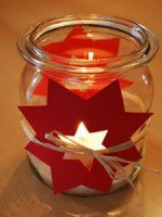 Bine Brändle - My colorful world - creative, colorful and playful - Bine BrändleSimply make your own beautiful Christmas lanterns with small snowflakes and other Christmas motifs from old glass and with chalk markers. Christmas Crafts For Kids, Beautiful Christmas, Kids Christmas, Christmas Gifts, Xmas, Diy Crafts To Do, Kids Crafts, Christmas Lanterns, Christmas Decorations