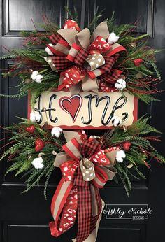Valentine Home Wreath