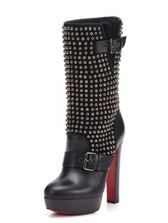 I think I just died and went to heaven.  Check out the Christian Louboutin Marisa Boot.  I think these need to be in my shoe collection.  It's only fair since they are named after me.