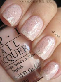 This was an unexpected love for me. I'm not usually the sheer/pink/nude type, but something drew me in: these are beautiful, elegant JELLI. Opi Nail Polish Colors, Opi Nails, Nude Nails, Nail Manicure, Manicure Ideas, Nail Polishes, Mani Pedi, Nail Ideas, Glitter French Manicure
