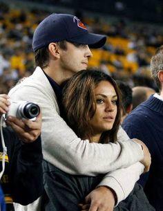 Both of them-Mila Kunis & Ashton Kutcher