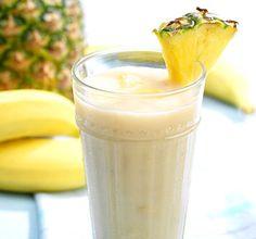 Lisää ananasta Chiquita banaaneihisi ja nauti trooppisen hedelmäinen smoothie.