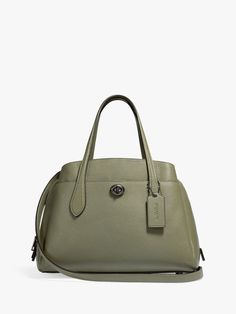 Polished Pebble, Easy Access, Leather Fashion, Pebbled Leather, 30th, Purses And Bags, How To Look Better, Essentials, Exterior