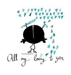 En cada pedacito de mi corazón un pedacito de vosotros/as. All my…