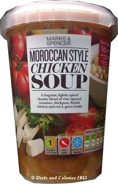 Moroccan Style Chicken Soup from Marks & Spencer