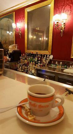 Cafè a Roma. Cafè Greco.
