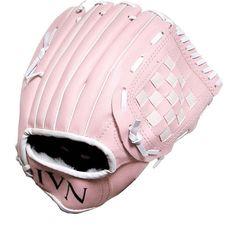 """Lightweight Soft Leather Girl Baseball infielder-Gloves for Left Hand Use ,10.5"""""""""""
