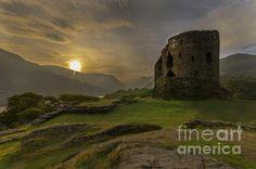 Dolbadarn Castle Sunrise