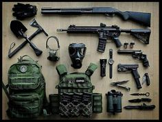 Perfect !!! #weapons #guns #axe #machinegun #revolver #sog #molle #benelli #handgun #knife #tacticalknife #tactical #survivalkit by ragnar_gyula