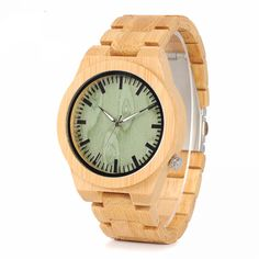Buy BOBO BIRD Brand Bamboo Watches with Bamboo Strap Wooden Quartz Watches for Men Japan Movemen Watches Come with Bamboo Gift Box at Wish - Shopping Made Fun Wooden Case, Wooden Watch, Bracelet Clasps, Bracelets, Cool Watches, Watches For Men, Men's Watches, Fashion Watches, Fashion Fashion