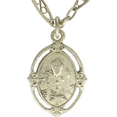 CS-DB Silver Necklaces Pendants The Holy Saint Maria Top Stylish Silver Necklaces Pendants