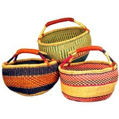 in love with these baskets! perfect for magazines