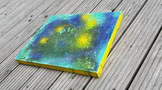 Acrylbild Sommer viele Strukturen von abstractartmoewchen auf Etsy