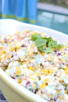 Spicy, smokey, creamy sweet corn salad and more easy summer sides for your long weekend by @Christine Smythe Smythe Smythe Smythe Smythe | Cook the Story