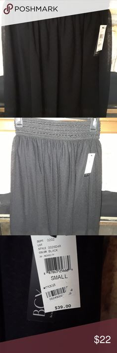 NWT BCX Skirt NWT BCX Skirt . Size Small. Super cute. Skirt 100% Nylon Mesh 100% Polyester  Lining 100% Polyester   Non smoking home  I do have inside dogs BCX Skirts Midi