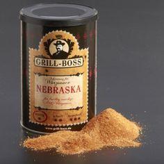 GRILL BOSS Grillgewürz Nebraska für eine fruchtig-rauchige BBQ-Sauce