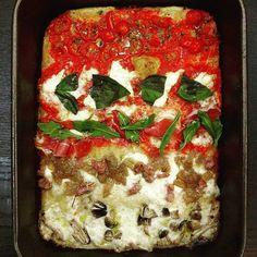 primeira experiência de pizza al taglio estilo @boncipane. ficou boa; dá pra ficar muito melhor