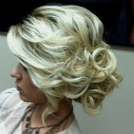 Such a cute up-do!