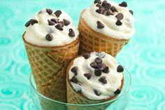 Crush your cravings with this guilt-free sweet treat… HG's Holy Moly Cannoli Cones! #dessert #lowcal #smartswap