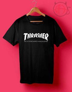 Thrasher Skateboarding T Shirt #graphictee #graphictshirt #graphicshirt #shirt #tee #tops #teens #gift #womens #mans #thrasher #skate #skateboard
