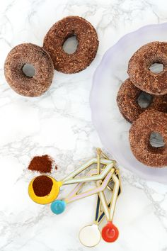 Oleander and Palm: Chocolate Chipotle Donuts