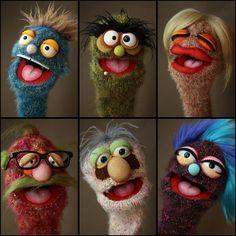 Würmer #Sockpuppets #Puppets