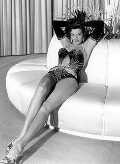 Jane Russell. love this show girl outfit... someone should make lingerie that looks like this!