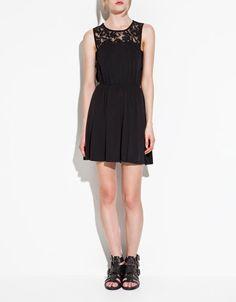 Cute, simple black dress -Zara $50