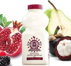 Forever Living Products - Pomesteen Power - des fruits antioxydants - grenade, mangoustan, fruits rouges, etc. Weight Loss Cleanse, Weight Loss Drinks, Weight Loss Smoothies, Healthy Weight Loss, Aloe Vera Juice Drink, Aloe Drink, Chocolate Slim, Forever Aloe, Grenade
