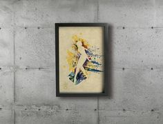 Items similar to SAILOR SATURN poster - Inspired by the Sailor Moon Anime series. on Etsy Sailor Moon Fan Art, Sailor Neptune, Sailor Uranus, Sailor Moon Crystal, Group Art, Postcard Size, Giclee Print, Cartoons, Watercolor