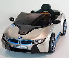 New 2015 BMW I8 Je 12v Kids Ride on Power Wheels Battery Toy Car - Champagne Real Paint