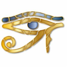 Eye of Horus 7 - Ornament Sculpture #yule #soltice #pagan #witch #witchcraft #wicca #christmas #egyptian #eyeofhorus #mosaic