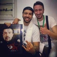 Eccolo Mondo Marcio , un grande come Artista e come Persona!!! Grazie mille alla Pro Loco' Genius Loci' di San Potito Sannitico per avermi ospitato!!! #MondoMarcio #rap #hiphop #rapper #NellaBoccaDellaTigre #Mina #Live #SanPotitoSannitico  #GiuseppeLombardi #FattiDisegnare #Caserta #campania #italy #artwork #digital #graphic #art #Milano