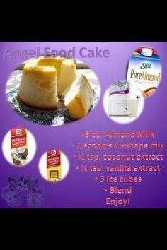 Angel Food Cake - Visalus Shake Recipe