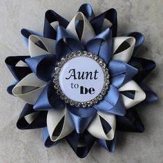 Aunt to Be Pin New Aunt Gift Baby Shower Corsage Grandma to