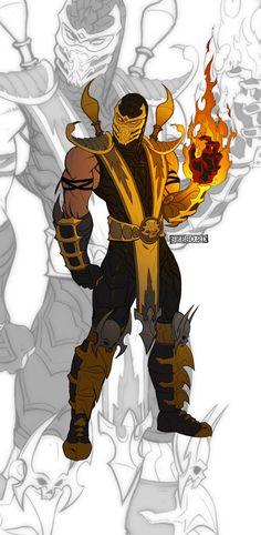 Scorpion_MK9 by *Seeso2D on deviantART