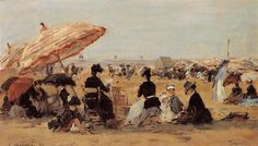 Trouville 1884 | Eugene Louis Boudin | Oil Painting