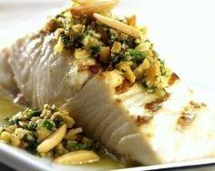 Filet de poisson grillé, salsa d'amandes (facile, rapide) - Une recette CuisineAZ