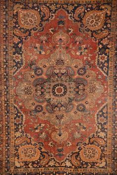 Antiker Täbriz Hadji Jalili um 1900 195 cm x 130 cm | eBay