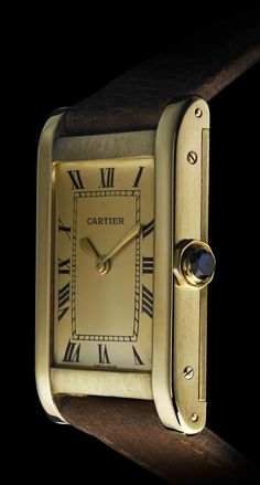 53d3cdb981d 12 Things You Didn t Know About the Cartier Tank Watch. Cartier Watches  WomenGold ...